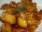Navets confits aux épices et au miel
