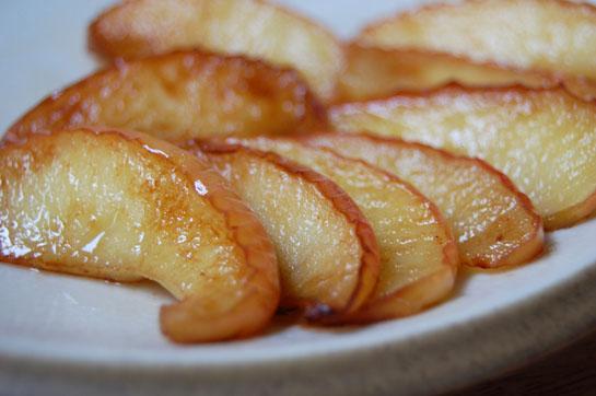 Pommes poêlées aux saveurs de Noël